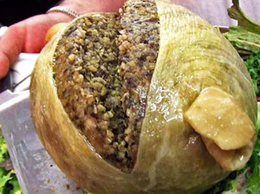 Haggis | 14 productos culinarios que los gallegos no se comerían en los restaurantes en Galicia