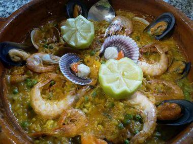 Arroz de mariscos | Restaurante Atlántico, Vigo