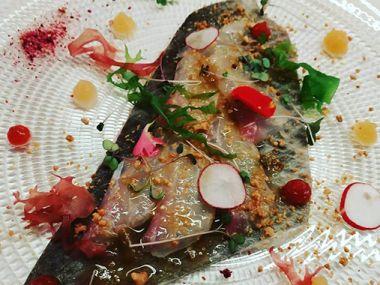 Sashimi de lubina | Restaurante Nikko, Vigo