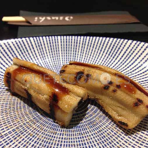 Anago (anguila a la brasa) | Restaurante japonés Osushi en Vigo