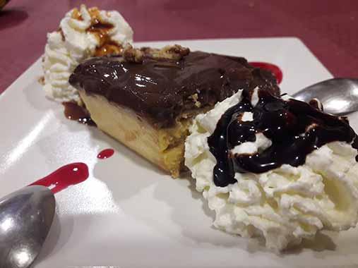 Tarta de la Abuela | Restaurante La Paulina en Vigo