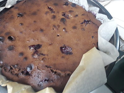 Brownie de arándonos